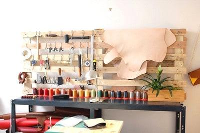 Atelier DIY maroquinerie sac a main cuir EVJF