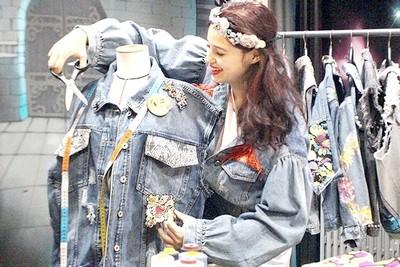 Atelier DIY mode veste en jean EVJF