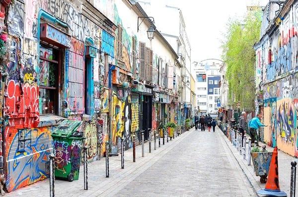 Visite Paris Belleville - weekend paques