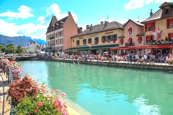Annecy visite vielle ville - weekend paques