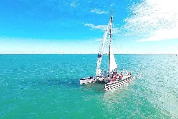 Croisiere catamaran golfe morbihan ile houat - weekend paques