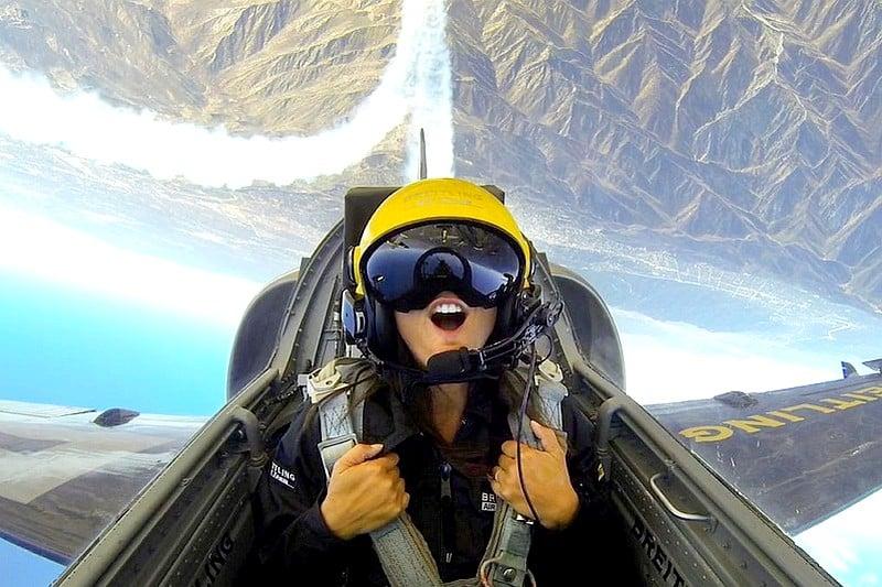 Vol en formation avion de chasse Jet - Breitling Jet Team - Dijon Bourgogne