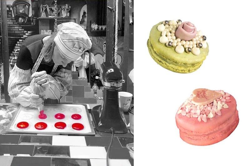 Cours de patisserie Paris - Macarons haute couture