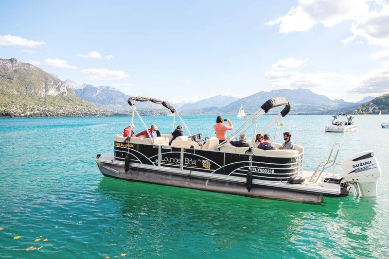 Balade bateau Lac d'Annecy