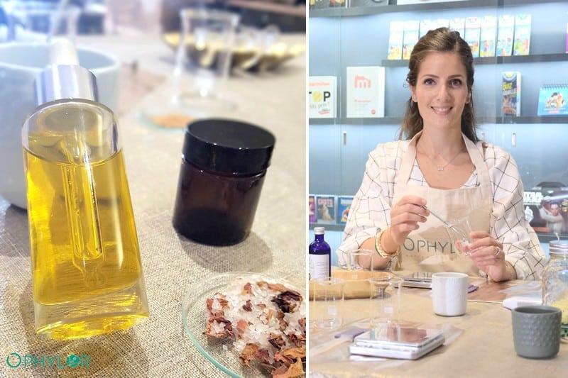 Atelier DIY Cosmetique bio future et jeune maman - Paris
