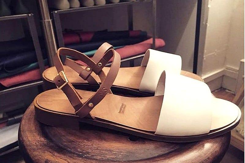 Atelier DIY coordonnerie Paris - sandales en cuir ou tissu