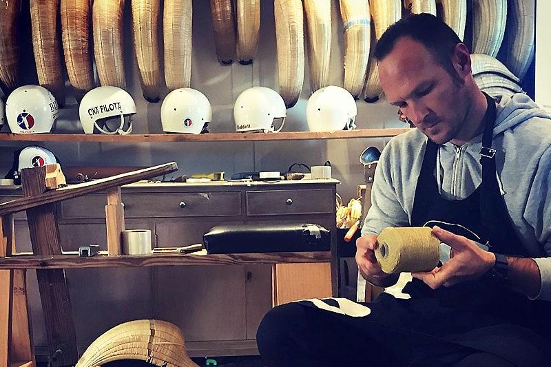 Visite privee atelier fabrication chisteras et pelote - pays basque artisanat et savoir faire local