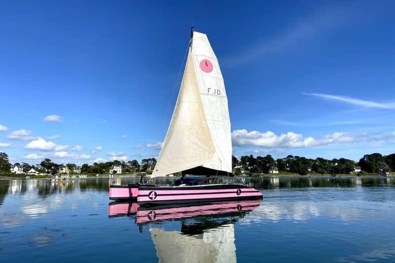 croisiere bretagne voilier catamaran quiberon golfe morbihan