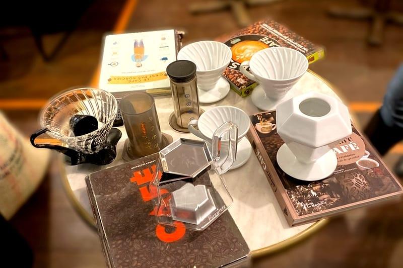 atelier cafe paris preparation cafeologie methodes douces cafetiere
