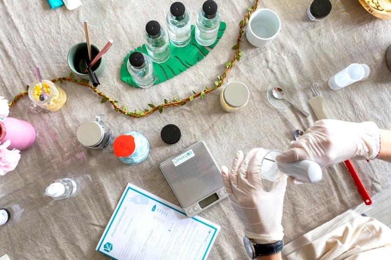 Atelier cosmetique bio paris soin corps