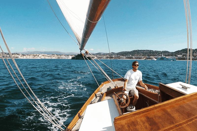 croisiere voilier yacht cannes iles lerins mer mediterranee
