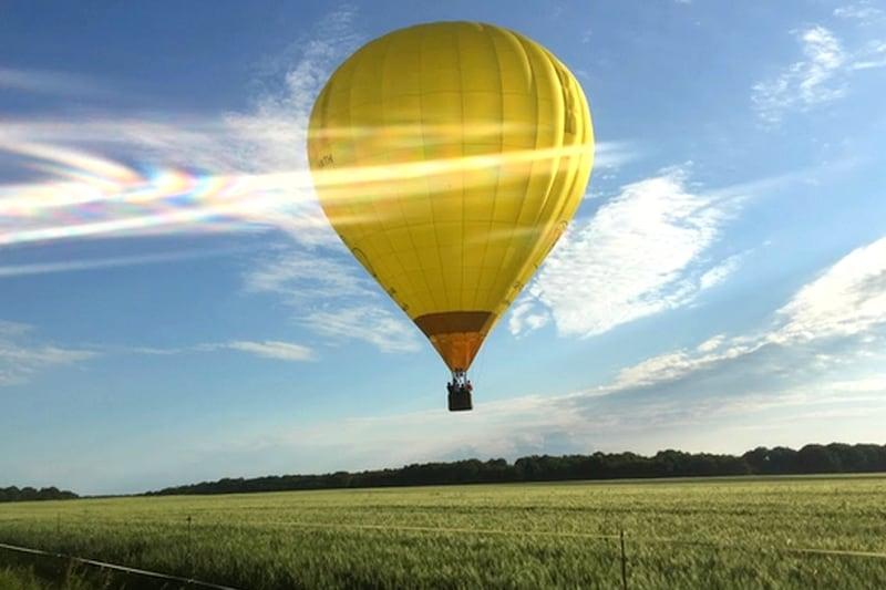vol montgolfiere ballon chateau de la loire chenonceau cadeau