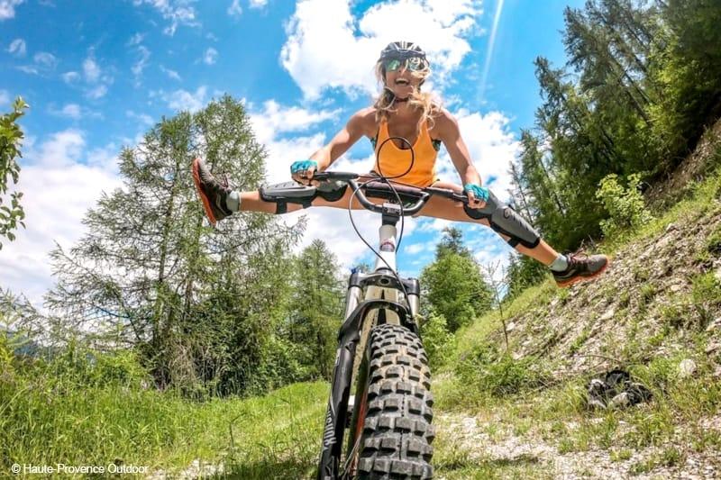 activite originale gorges du verdon haute provence deval bike trotinette descente tout terrain evg evjg groupe famille