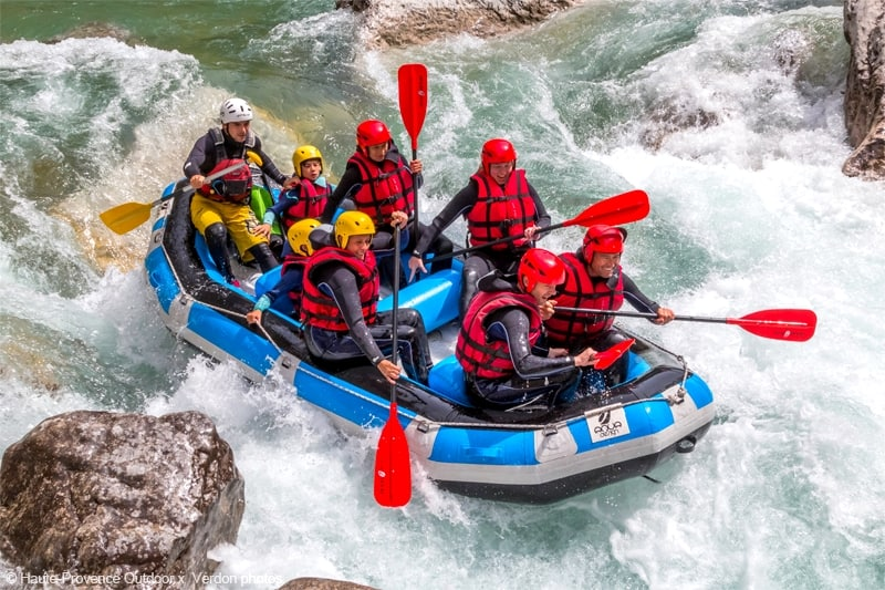 rafting castellane gorges du verdon provence guide prive evg evjf