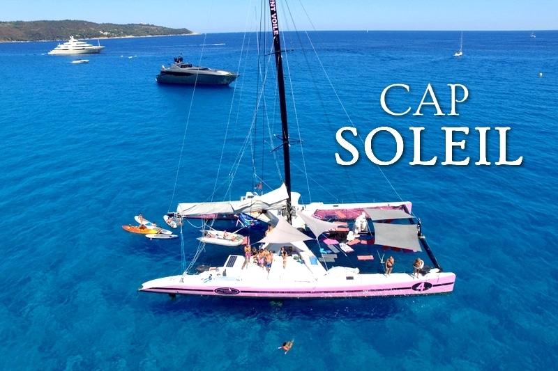 Tidden - croisiere voilier catamaran saint tropez cap dramont cap esteral