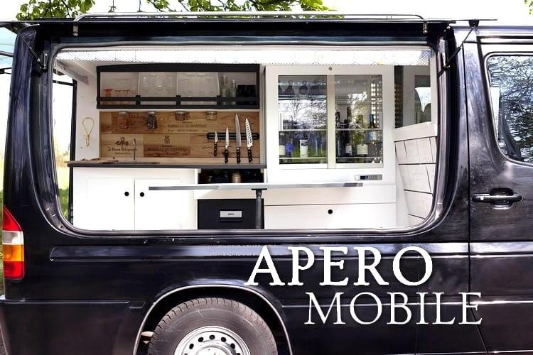Tidden - apero originale mobilel itinerant paris prestige