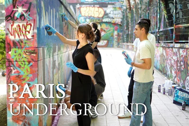 Tidden - atelier graffiti street art initiation paris