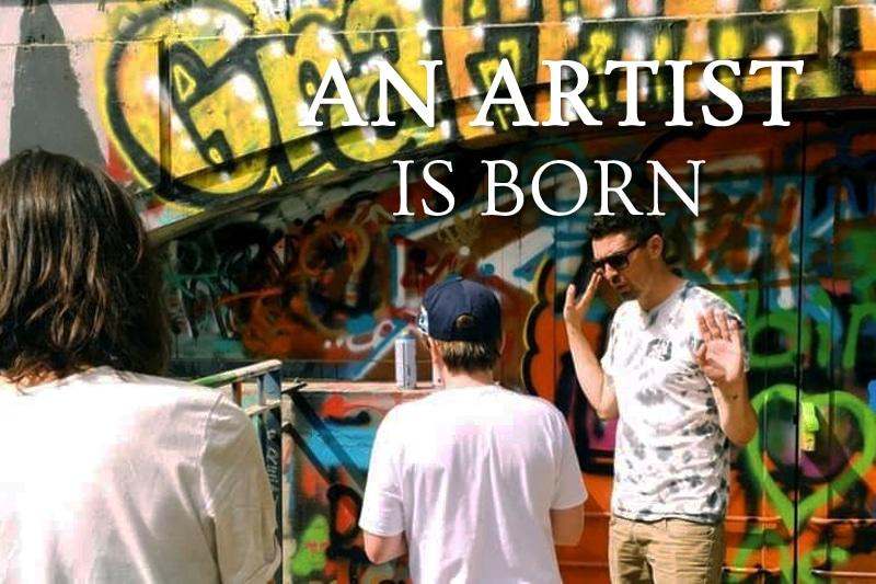 Tidden - atelier prive graffiti street art initiation paris