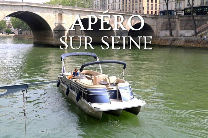 Tidden - croisiere apero sur la seine prive bateau ponton