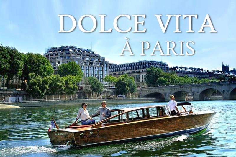 Tidden - croisiere privee bateau riva paris la seine vintage luxe