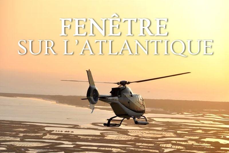 Tidden - vol bapteme helicoptere la baule loire guerande saint nazaire
