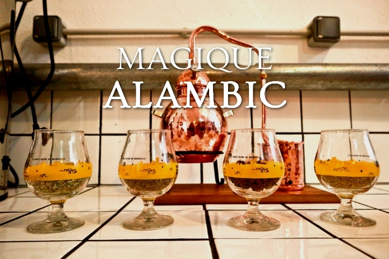 Tidden - atelier fabrication de gin à marseille alambic distillation