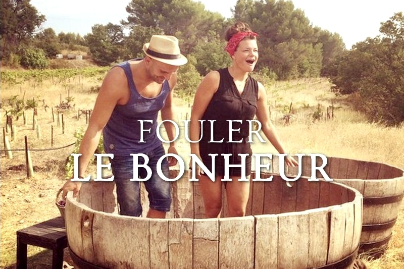 Tidden - authentic provence activities stomp grapes