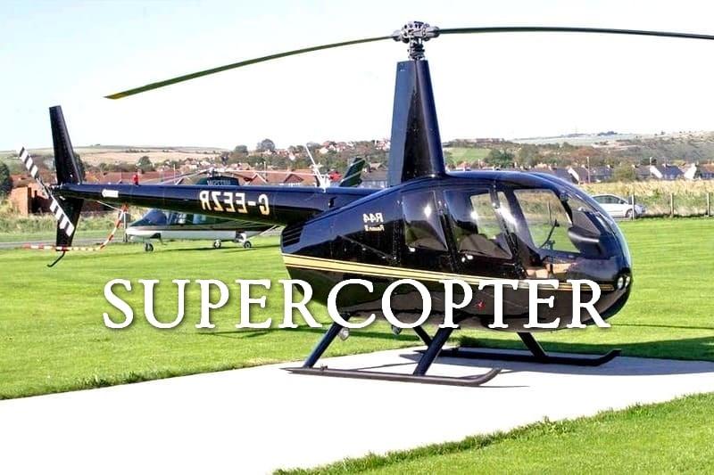 Tidden - cours pilotage vol helicoptere rennes bretagne cadeau