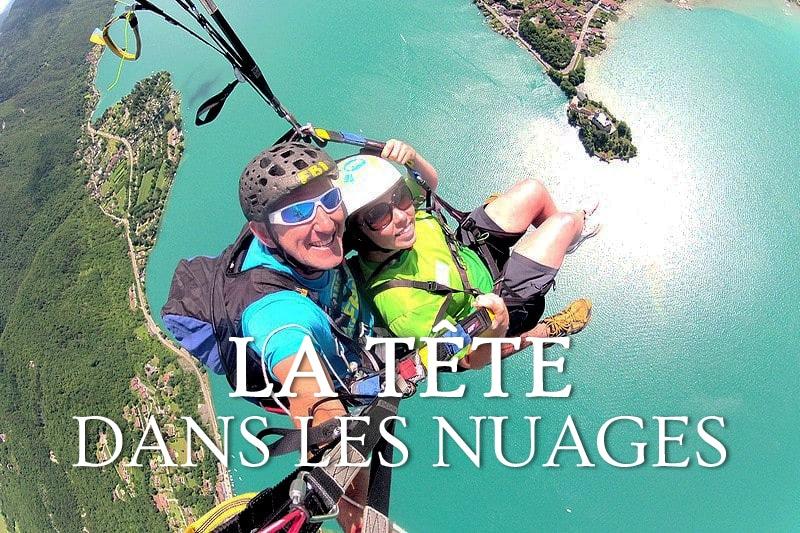 Tidden - vol parapente panoramique lac annecy forclaz 45 minutes