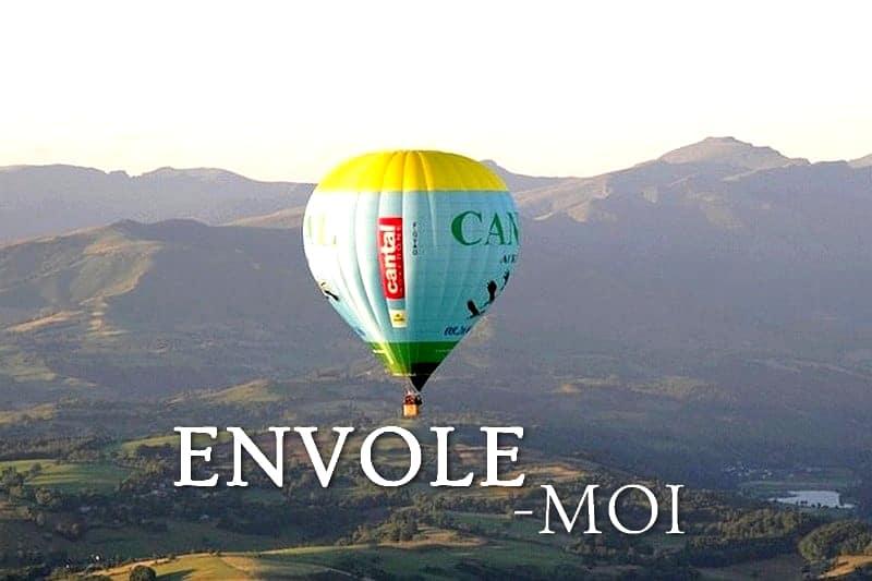 Tidden - vol montgolfiere saint flour cantal auvergne volcan
