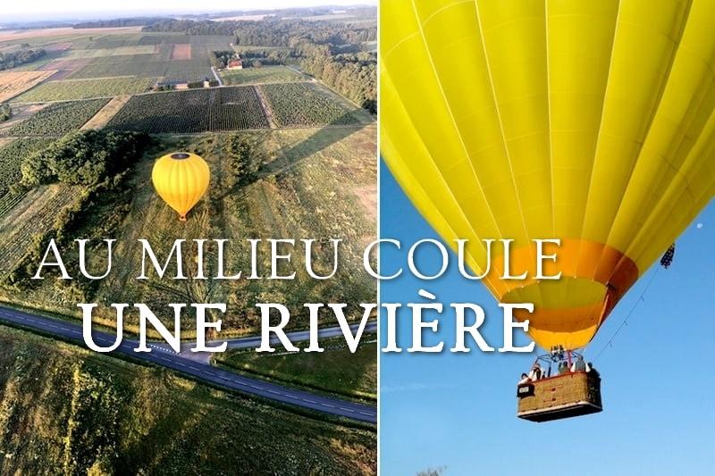 Tidden - vol montgolfiere vallee du loir