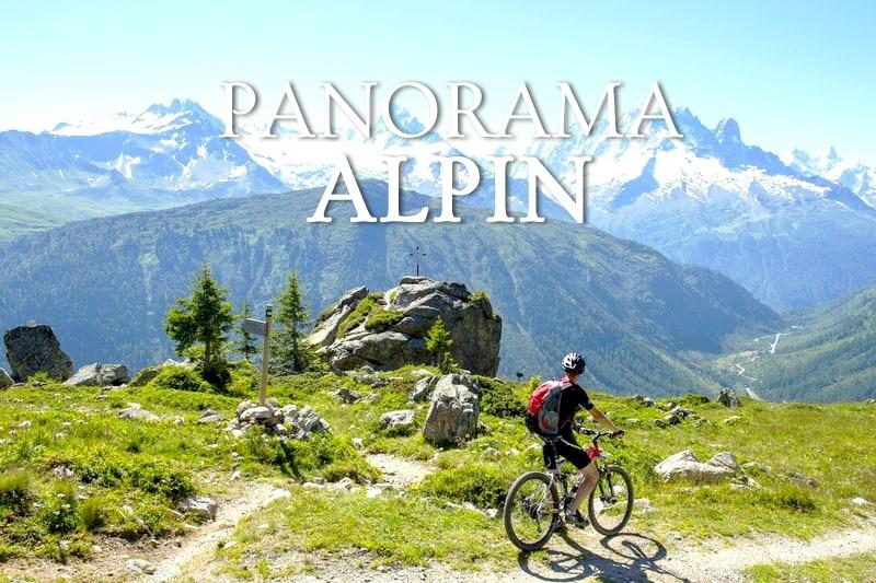 Tidden - randonee vtt eletrique mont blanc panoramique