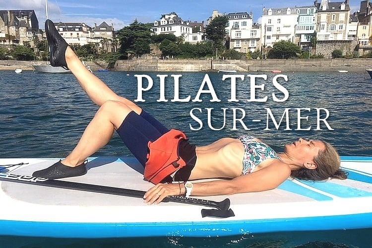 Tidden - cours pilates sur paddle dinard plage bretagne