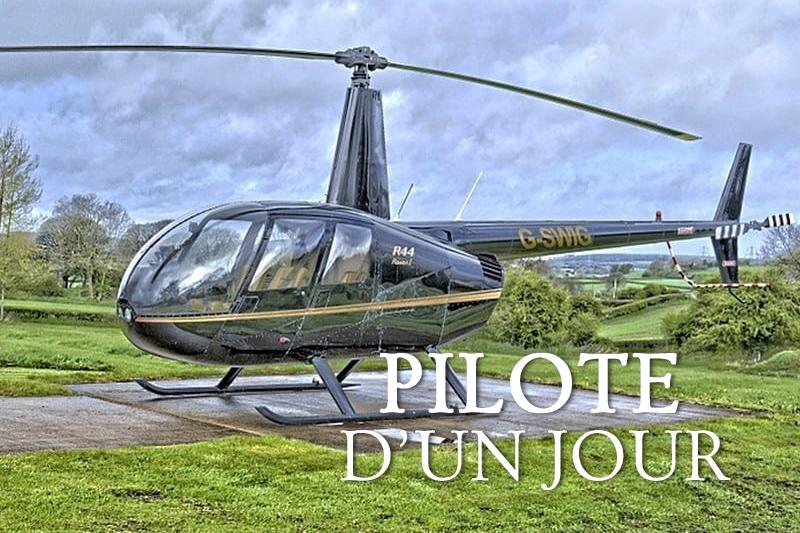 Tidden - initiation pilotage helicoptere la baule nantes pilote