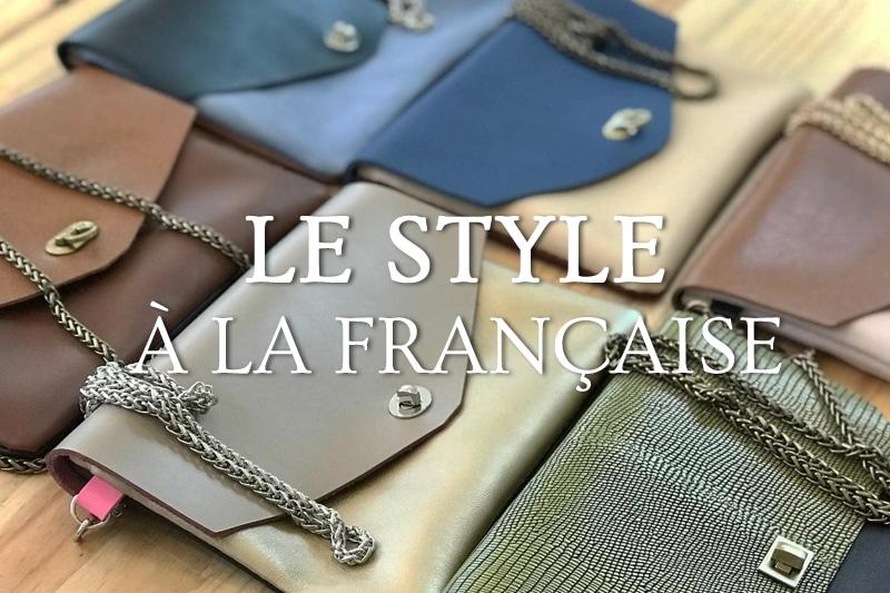 Tidden - Atelier diy pochette sac cuir mariage maroquinerie fabrication creation