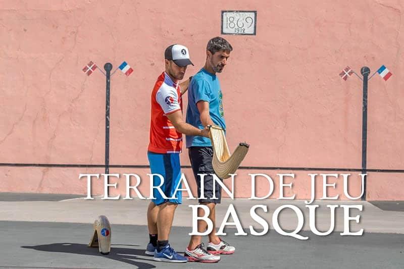 Tidden - cours privee chistera pelote basque cesta punta anglet bayonne pays basque