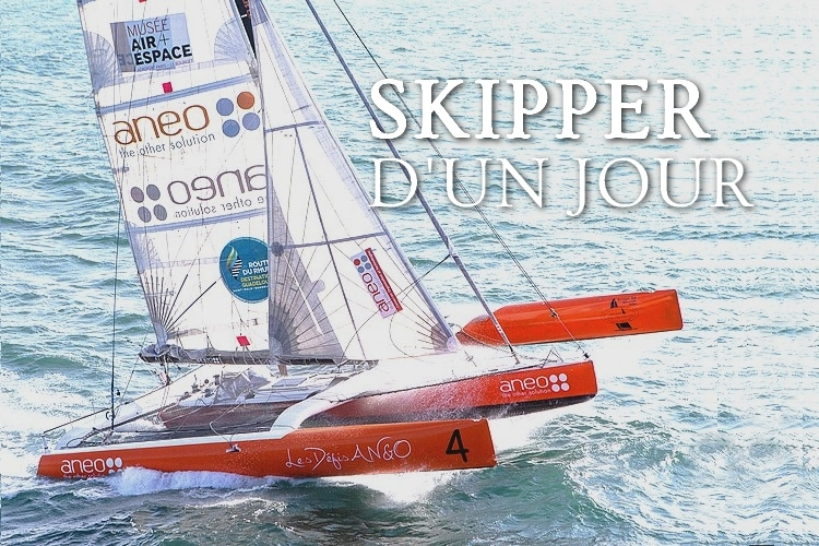 Tidden - experience skipper course au large trimaran vitesse bretagne golfe morbihan