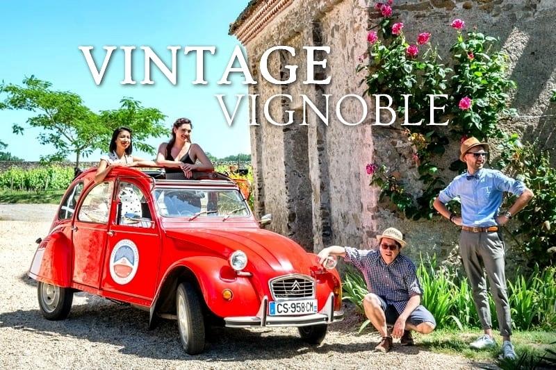 Tidden - visite guidee nantes vignoble nantais muscadet degustation chauffeur guide local 2cv