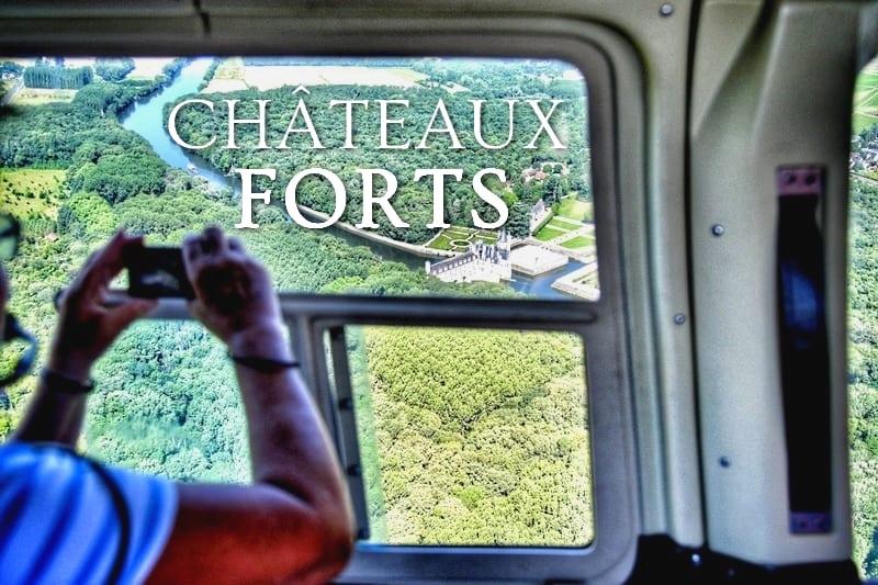 Tidden - vol bapteme helicoptere chateau chenonceau amboise loire
